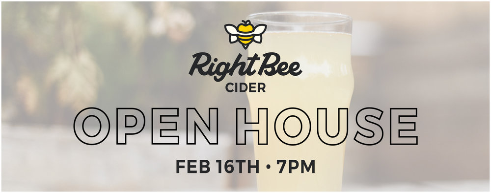 Right Bee Cider Open House
