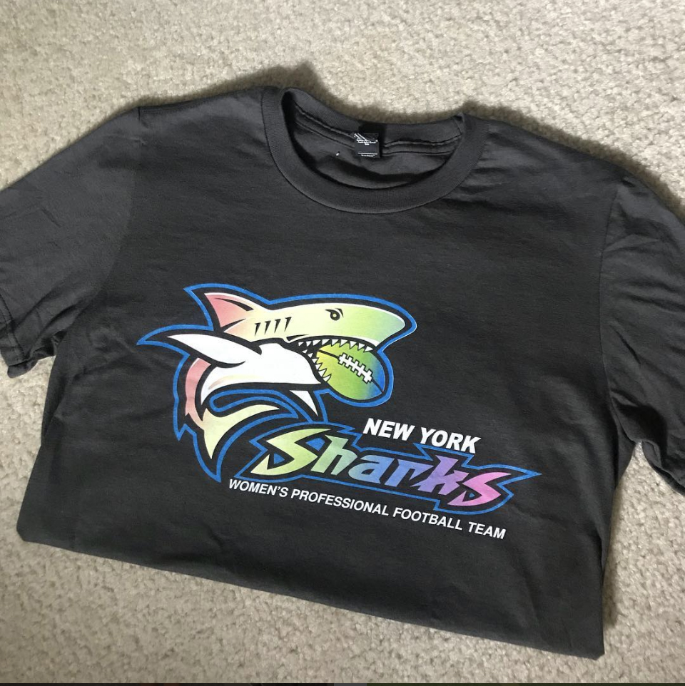 New York Sharks' Pride T-Shirt