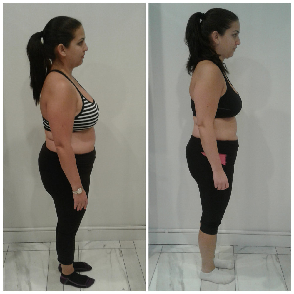 Jamie lost over 7% of her bodyweight in 28 days!