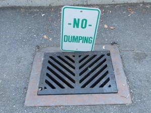 Watewater Dumping