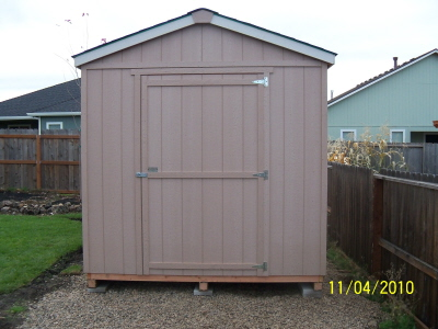 Sheds - Basic - The Shed Guys have three Base Models of Sheds/Barns.  They are: BASIC, DELUXE or PREMIUM.