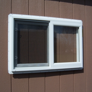 3x2 White Vinyl Slider Window