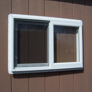 3x2 White Vinyl Slider Window