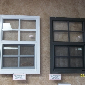 14x21 Tempered Aluminum Window