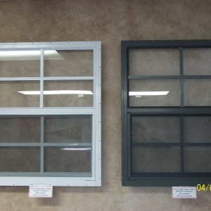 21x27 Tempered Aluminum Window