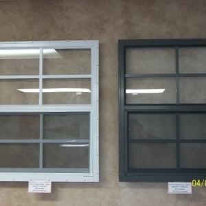21x27 Tempered Aluminum Window