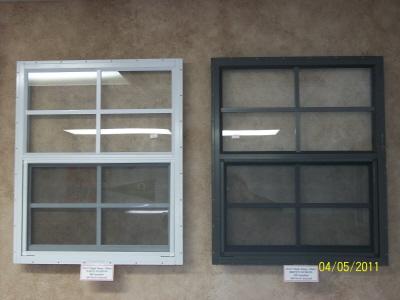 21x27 Tempered Aluminum Window -