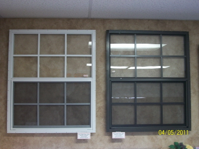 30x36 Tempered Aluminum Window -
