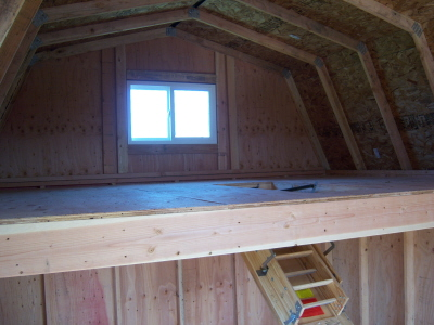 Heavy Duty Loft and Attic Ladder -