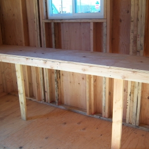 Heavy Duty Bench/Shelving