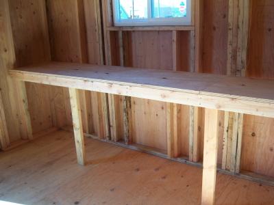 Heavy Duty Bench/Shelving -