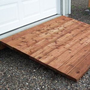 Cedar/Pressure Treated Ramps