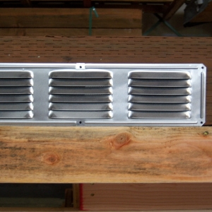16x4 Galvanized Gable Vent