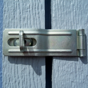 Galvanized Swivel Hasp