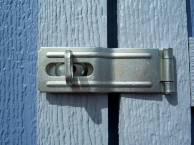 Galvanized Swivel Hasp -