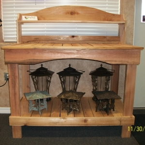 Rogue Cedar Potting Bench