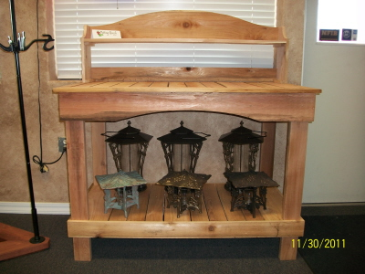 Rogue Cedar Potting Bench -