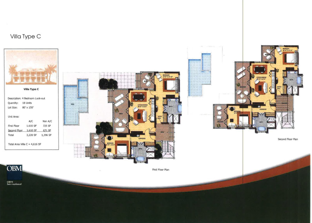 Villa Type A Floor Plan