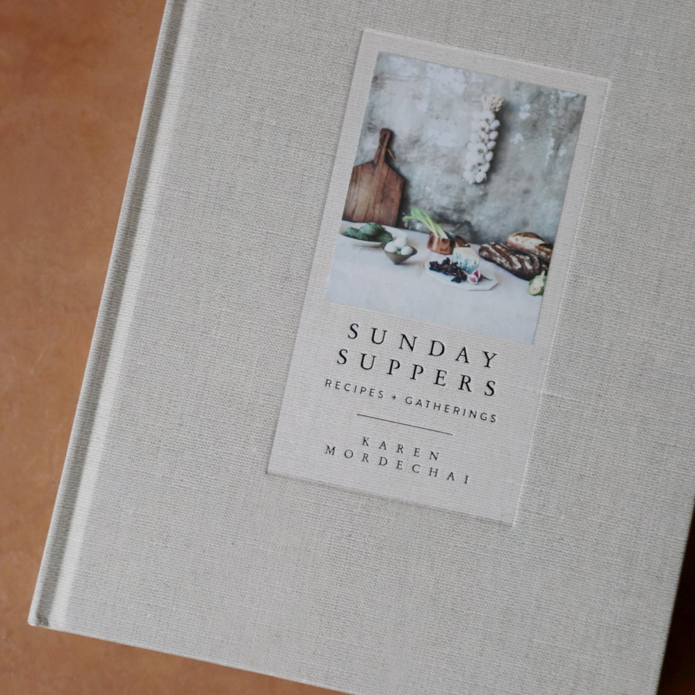 Sunday Suppers Cookbook  $32.50