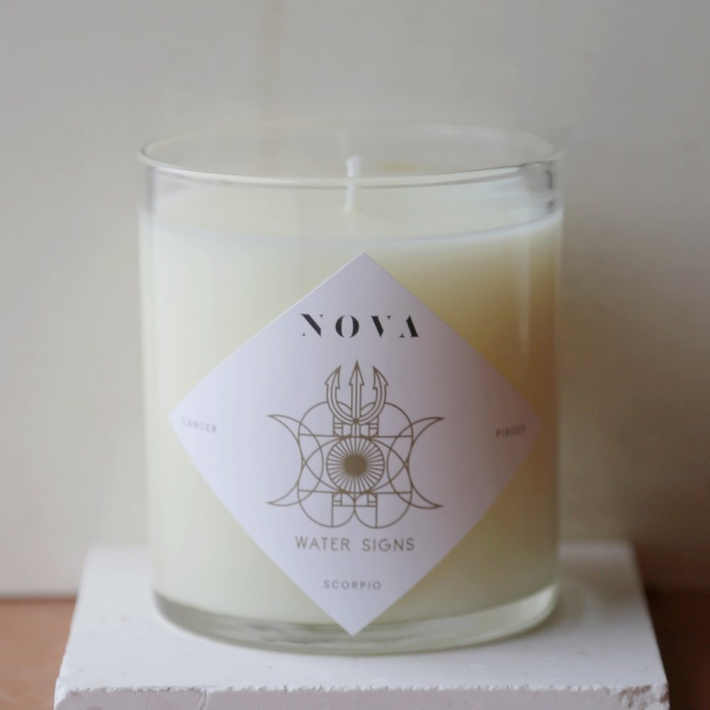NOVA Astrology Candle  $65
