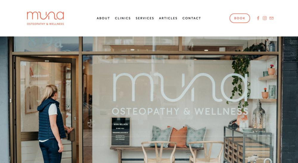 Muna Osteopathy & Wellness
