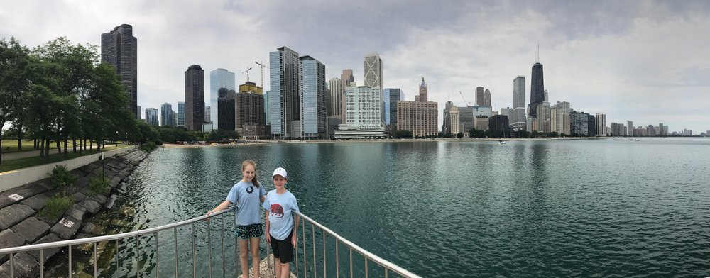 Abby & August in Chicago