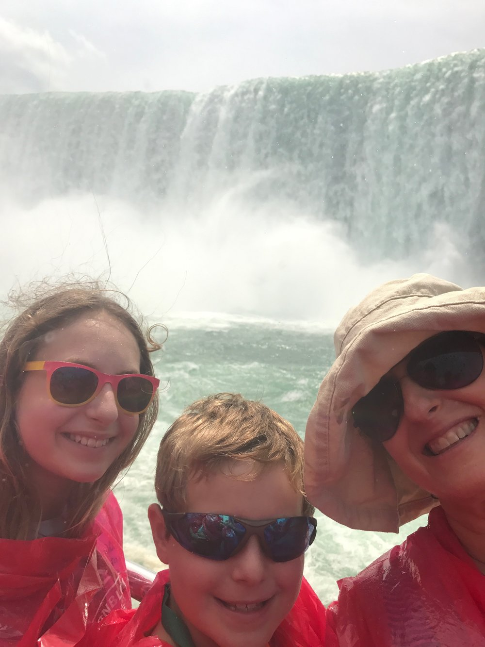 Abby, August & Hannah at Niagara Falls