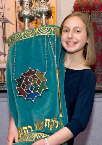 Abby with the Torah