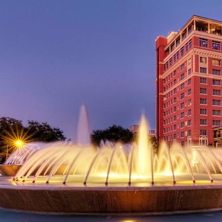 Mecom Fountain