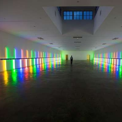 Dan Flavin Installation - Richmond Hall
