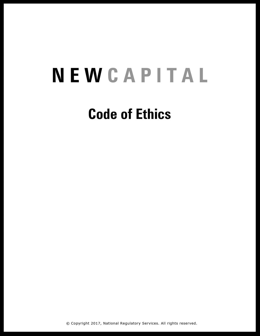 Click to download Code of Ethics