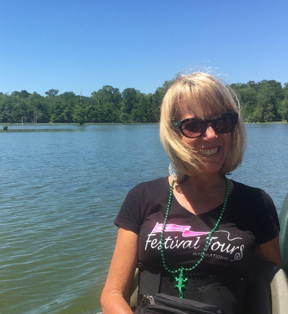 Nancy on Lake Martin