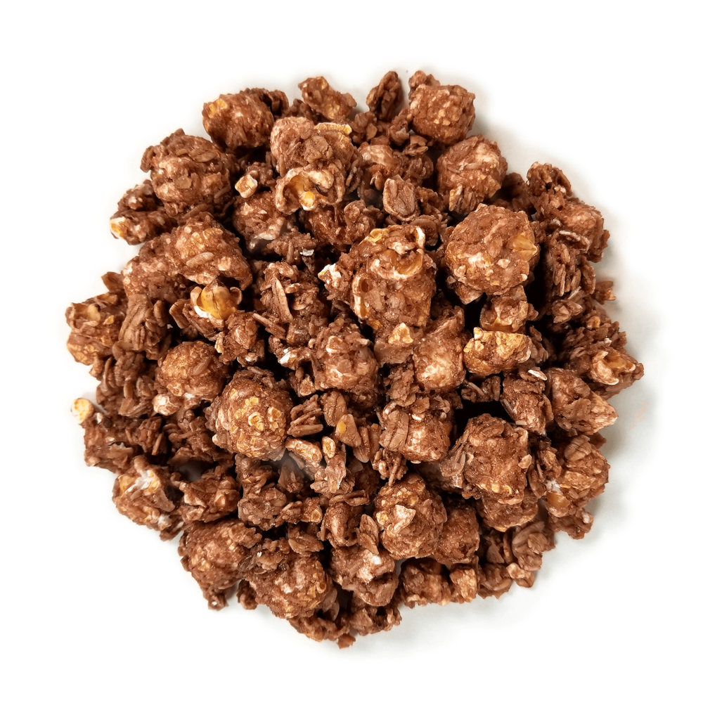 Chocolate Coconut Popcorn Granola