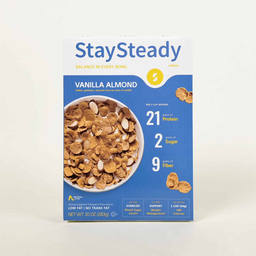 StaySteady Vanilla Almond