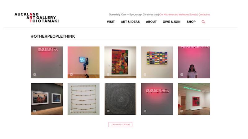 #otherpeoplethink  —  Auckland Art Gallery Homepage