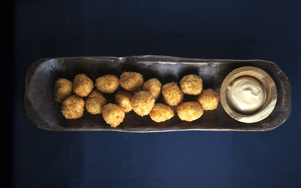 Crispy arancini with garlic aioli.jpg