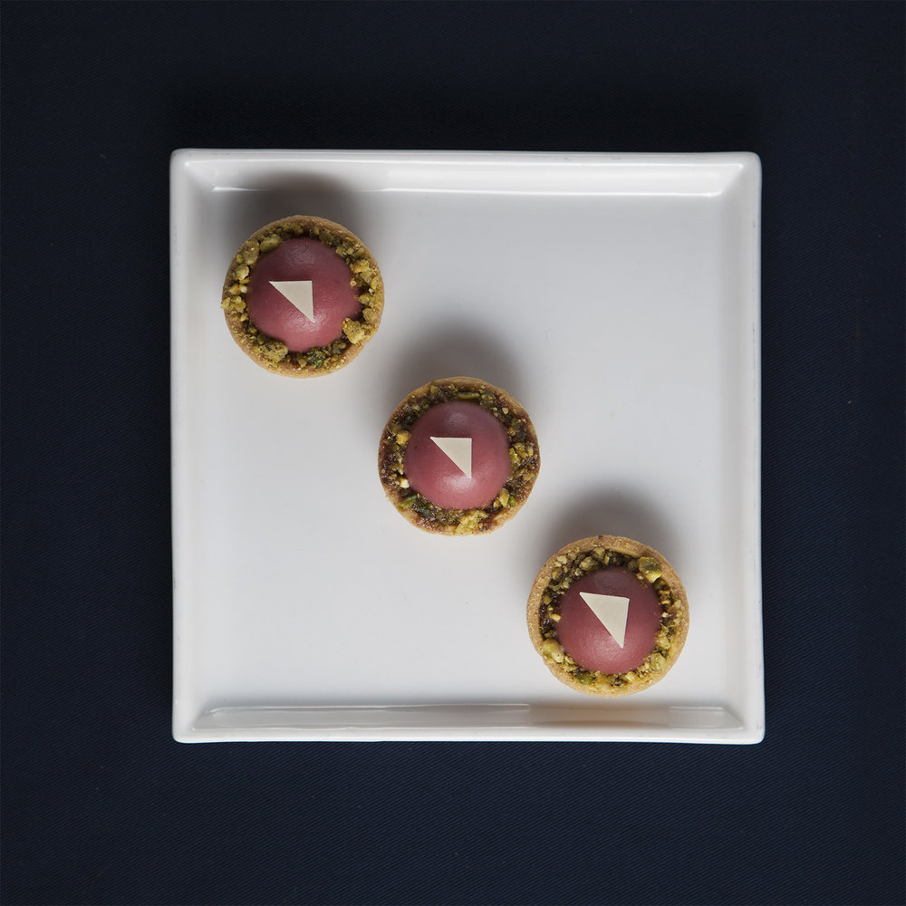 Raspberry dome tart trio.jpg