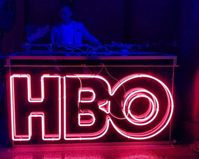 Spinning at the APA Visionaries event with HBO.  #hbovisionaries