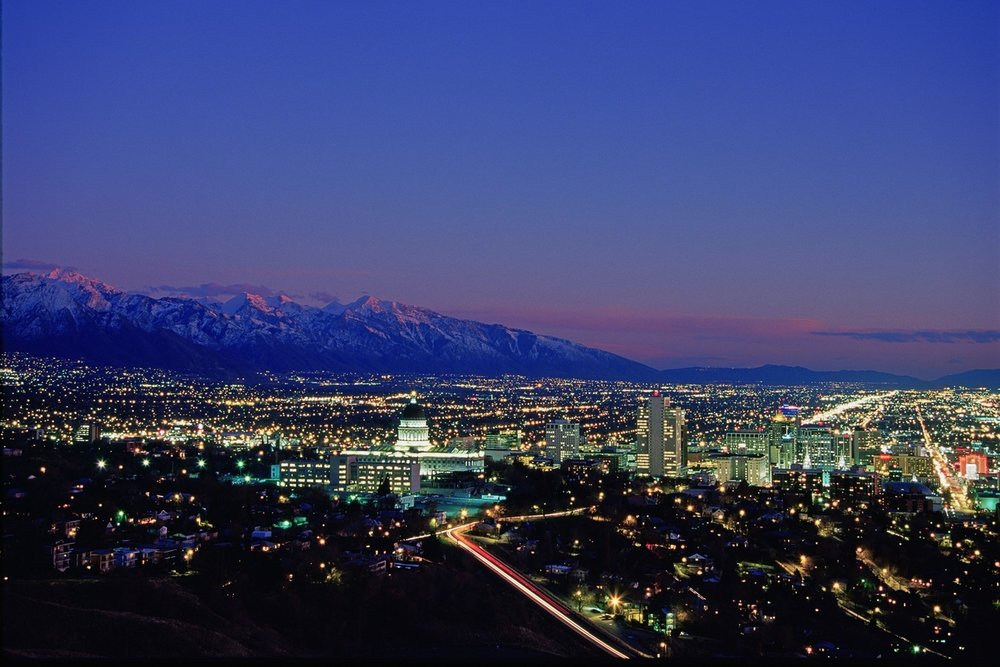 No other North American city offers big mountain skiing so excellent in such close proximity to the downtown core.  Steve Greenwood | courtesy Visit Salt Lake