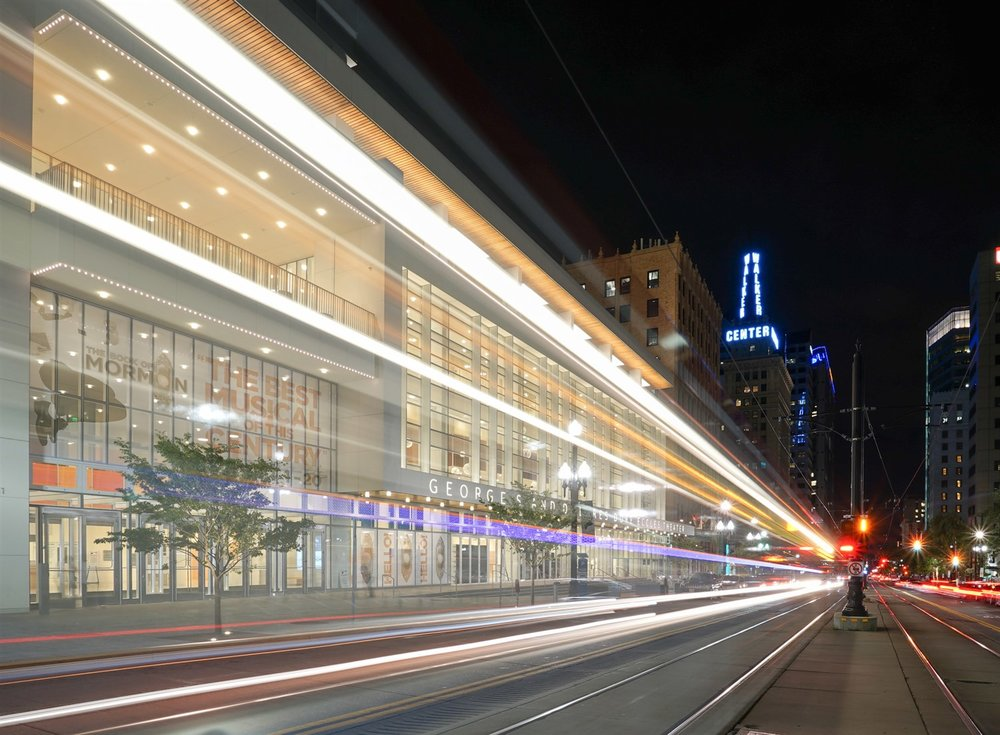 The sparkling new Eccles Theater was designed specifically to host Broadway shows.  John Burkholz | courtesy Visit Salt Lake