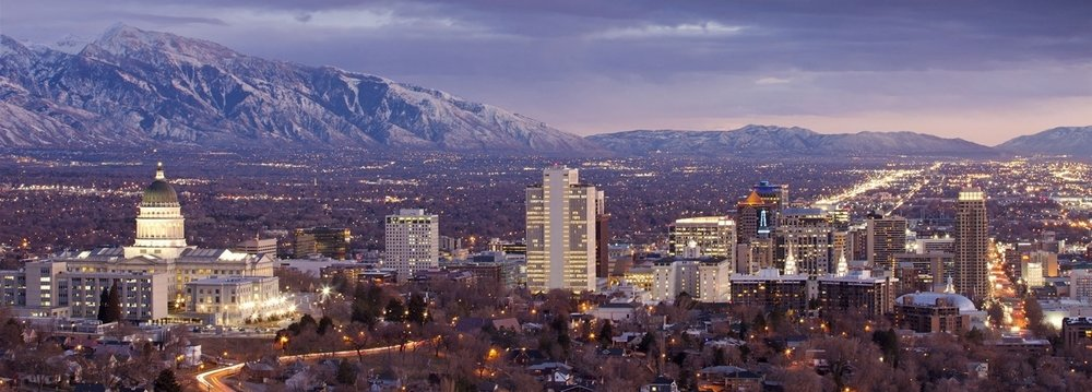 SLC lies in a basin framed by the Oquirrh Range on the west and the Wasatch Mountains on the east and north.  Adam Barker | Courtesy Visit Salt Lake