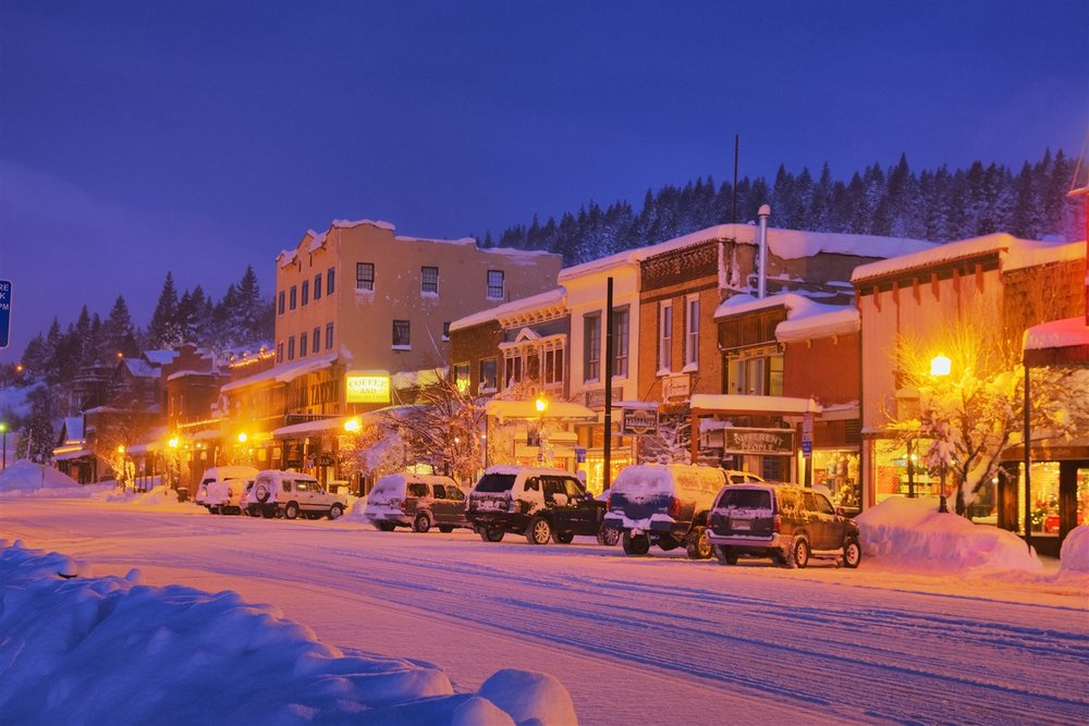 Truckee's cool historic downtown core dates to the 1860s, but suffered several devastating fires in its early years. Most existing historic buildings date to 1913, when wood construction largely was replaced with brick, mortar and stone.  Bill Stevenson | Courtesy Truckee Chamber of Commerce