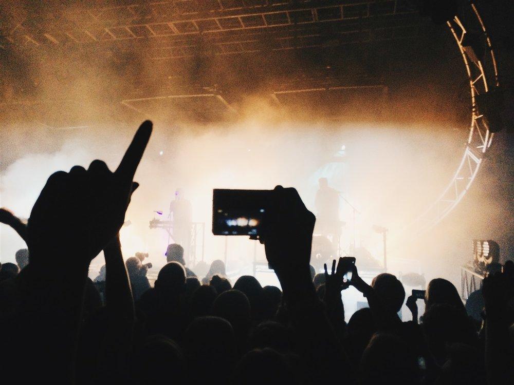 Live music of all genres fills Salt Lake City's nightly calendar. D reamstime