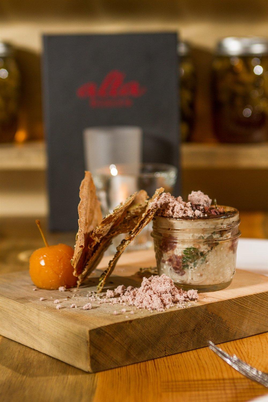 Alta Bistro 's elk tartare. Rich Glass | Courtesy Alta Bistro