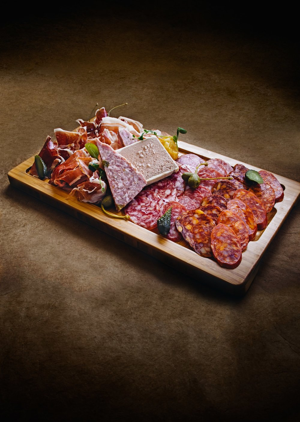 Charcuterie at  Bar Oso .  Kevin Clark | Courtesy Toptable Group