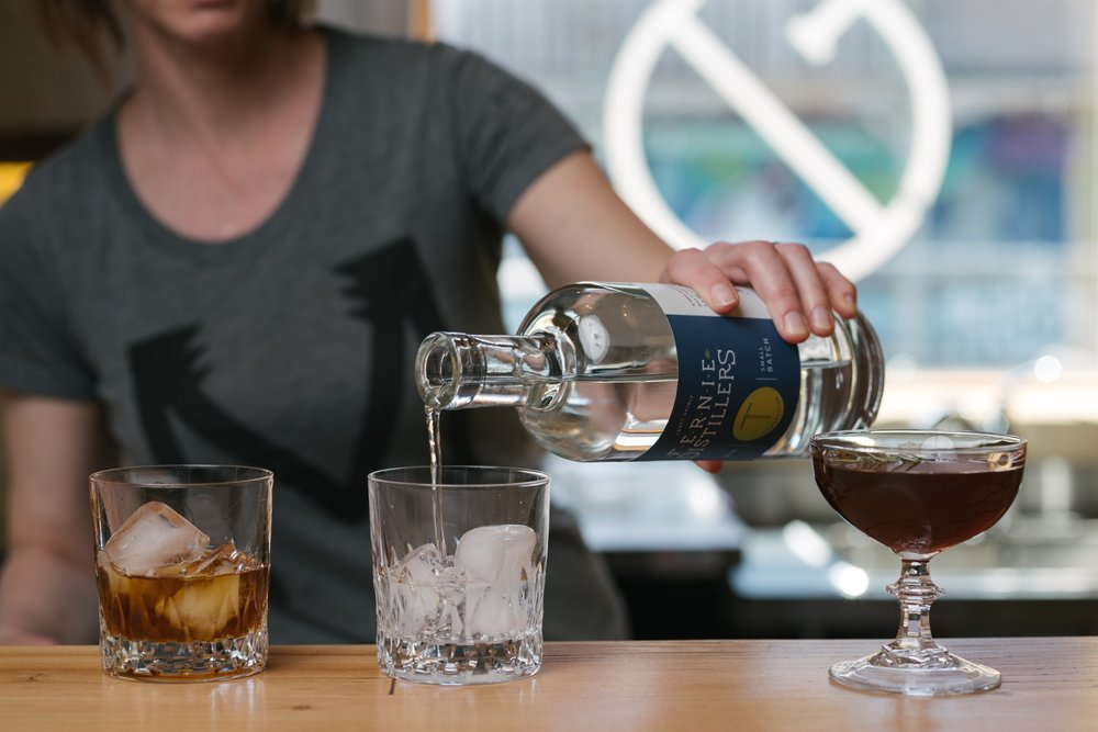 Apres-ski at Fernie Distillers. So good!  Kyle Hamilton | birr | Courtesy Fernie Distillers