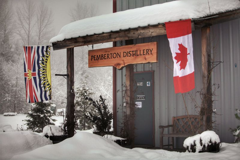 Pemberton Distillery launched in 2008, well before British Columbia's new wave of craft distillers. Its production plant is located a 30-minute drive north of Whistler Village, in the Pemberton Business Park.   Shane Roy