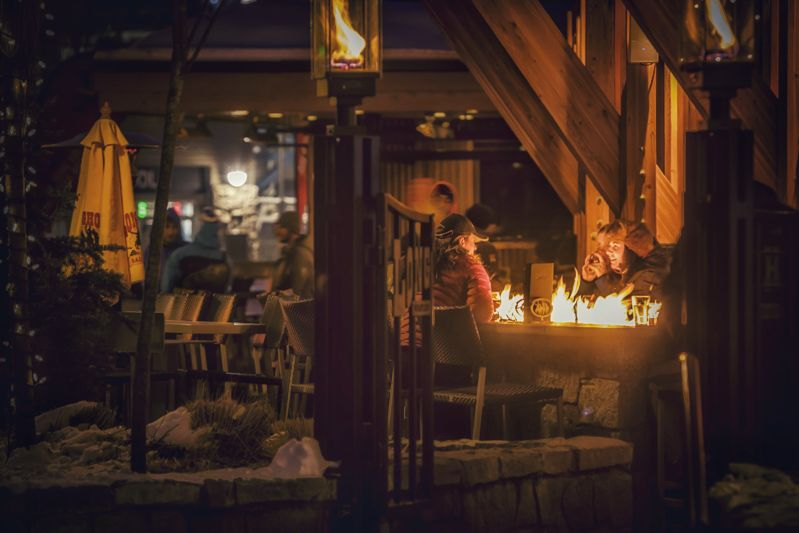 Pemberton Distillery's spirits are featured at many of  Whistler 's restaurants and bars, including the popular (and infamous) Longhorn Saloon.  Justa Jeskova | Courtesy Tourism Whistler