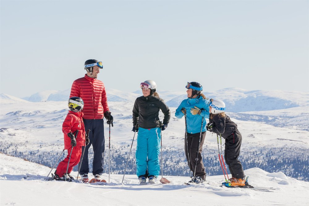 Åre may be remote but it is the 50th most visited mountain resort in the world, making it more popular on a global scale than well-known Colorado destinations like Steamboat and Beaver Creek. It is a great place for families.  Niclas Vestefjell |    Jämtland Härjedalen Tourism