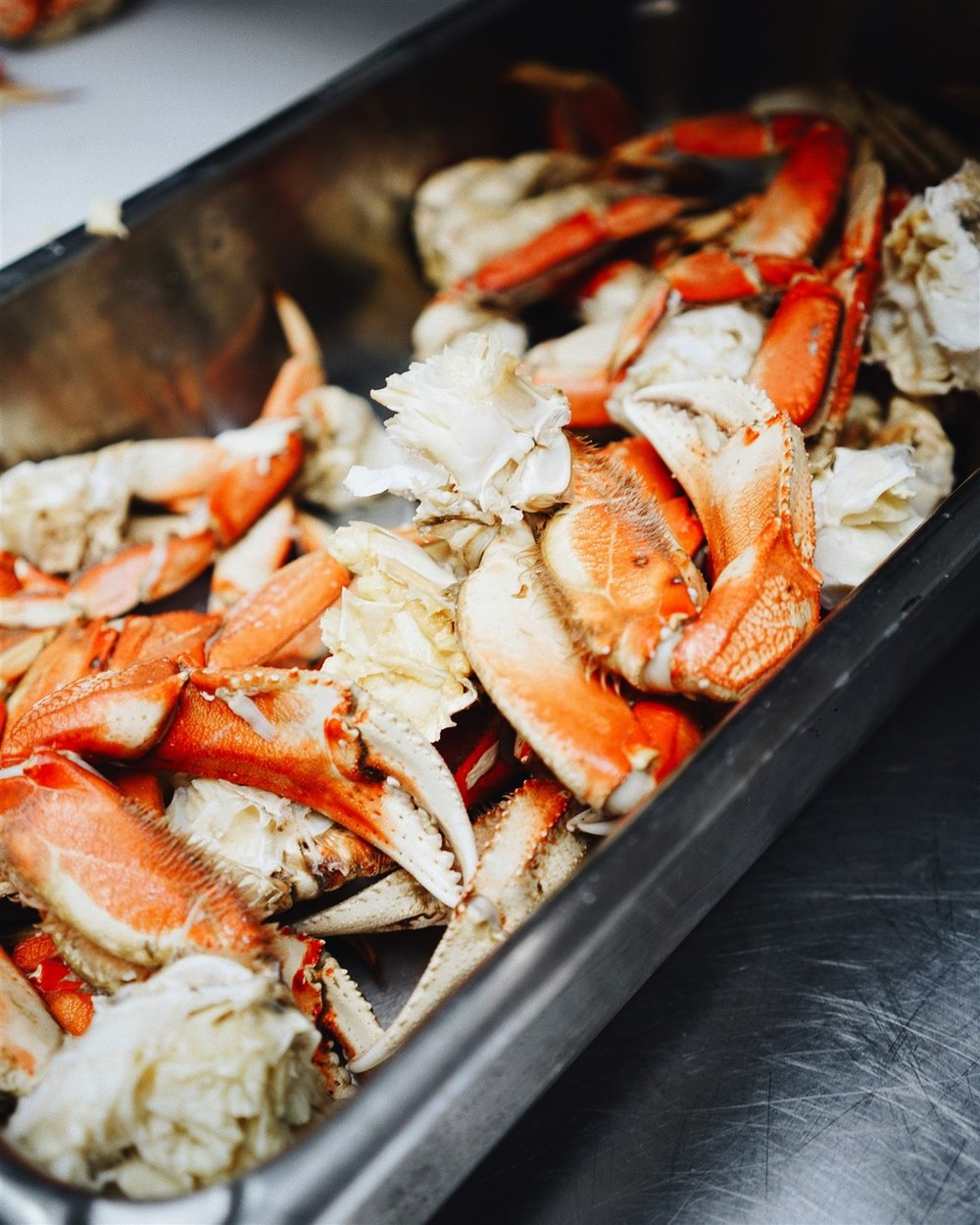 Premium crab, lobster and other select seafoods are regular features on the top fine dining menus in South Lake Tahoe and Stateline.   Marie France Latour    |    Unsplash